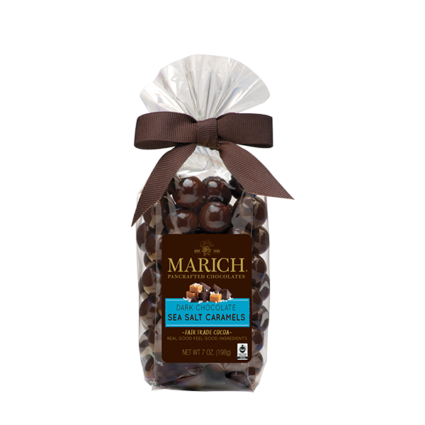 Dark Chocolate Sea Salt Caramels, 7 Oz.