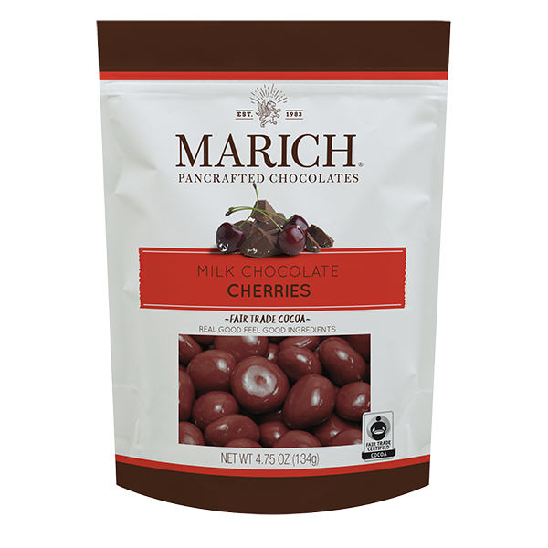 Milk Chocolate Cherries Pouch