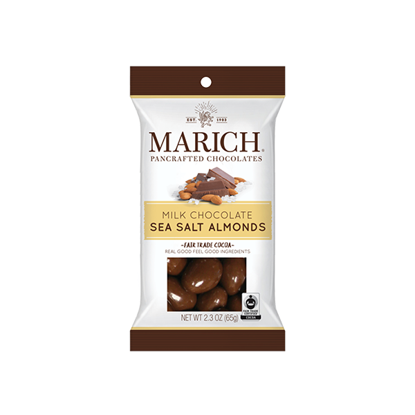 Milk Chocolate Sea Salt Almonds