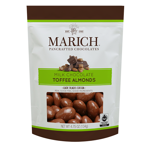 Milk Chocolate Toffee Almonds