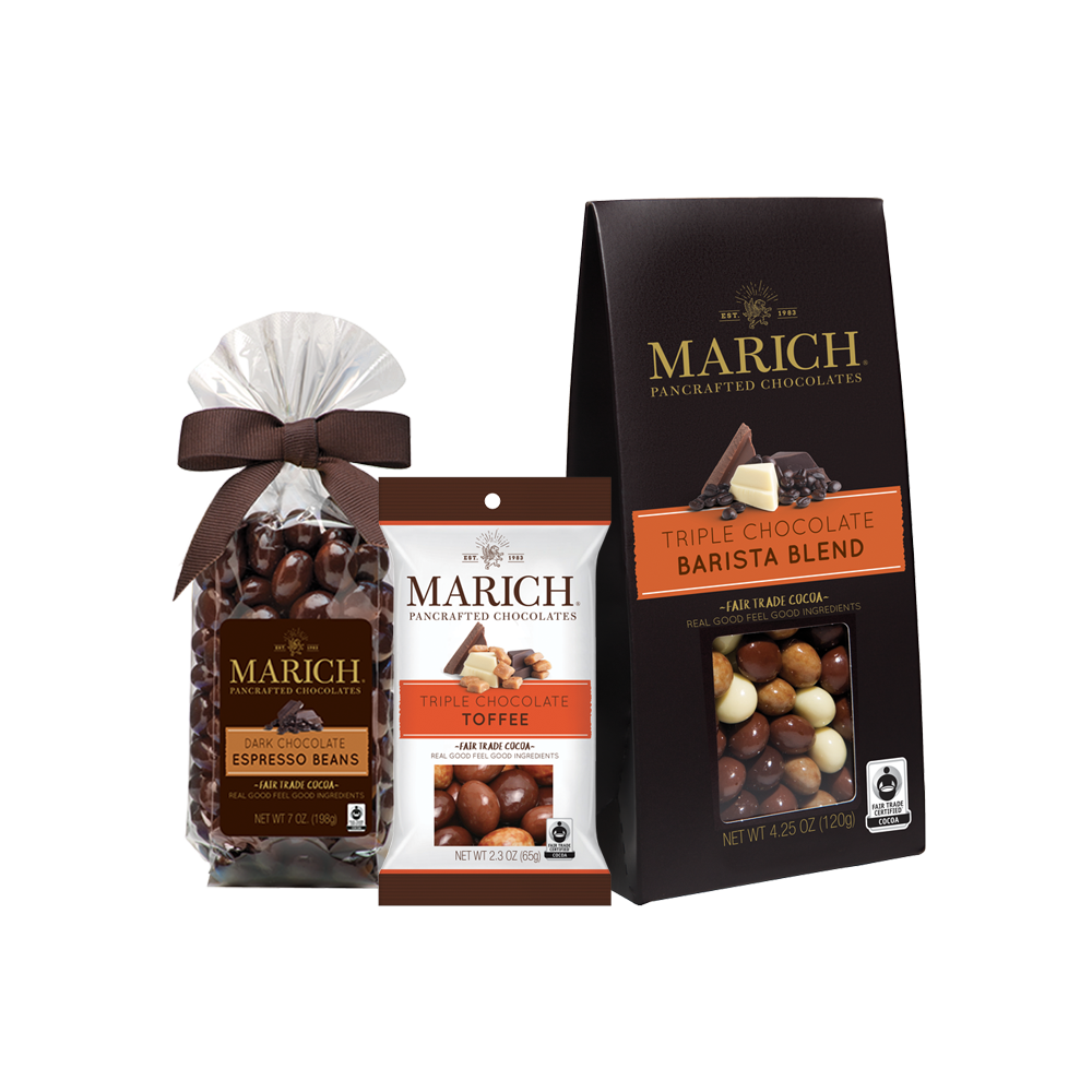 Marich Chocolate Covered Coffee and Toffee