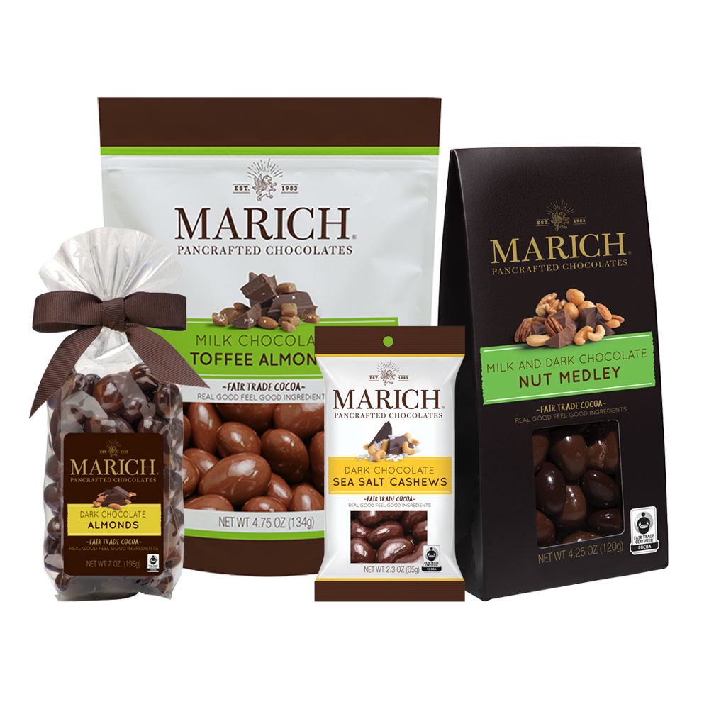 Marich Chocolate Covered Nuts