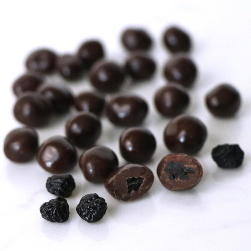 Kosher Parve Vegan Semi-Sweet Chocolate Blueberries Bulk