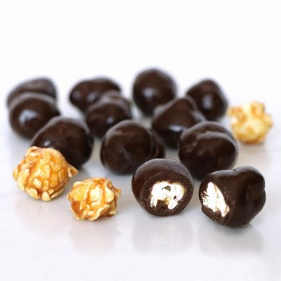 Dark Chocolate Sea Salt Caramel Popcorn Bulk