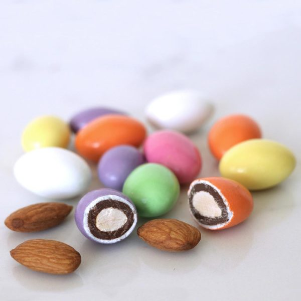 Milk Chocolate Jordan Almonds Bulk