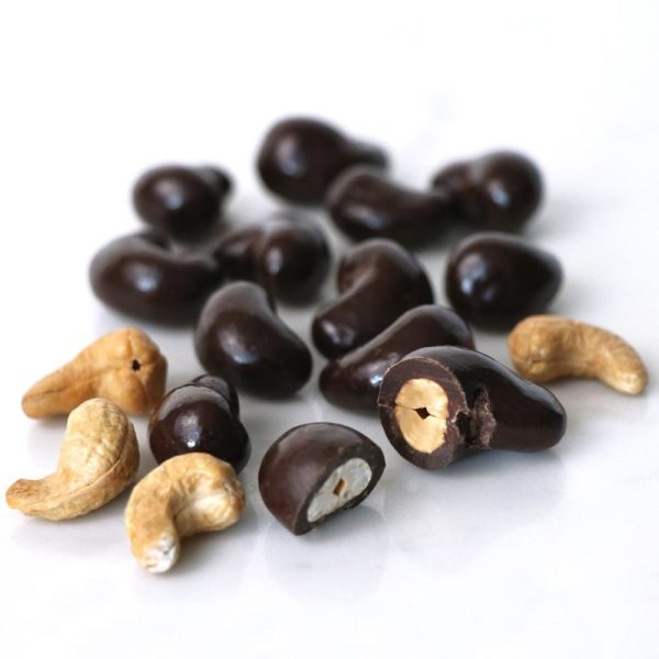 Dark Chocolate Sea Salt Cashews Bulk