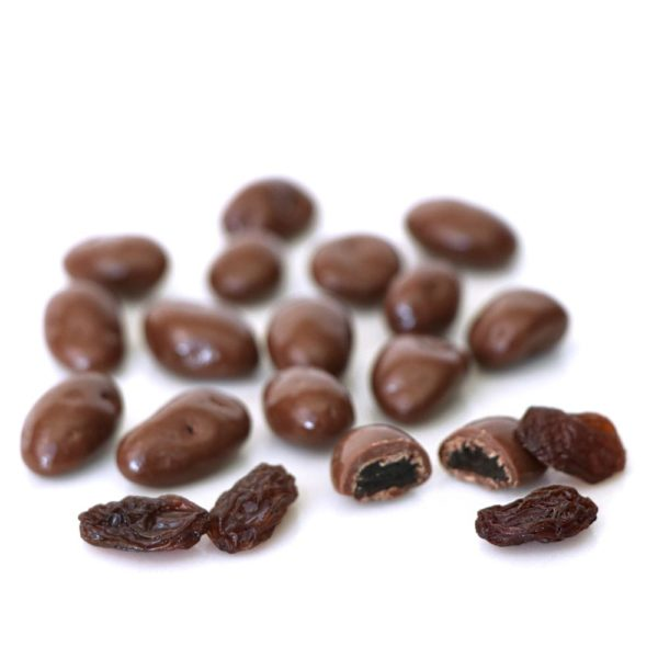 Milk Chocolate Raisins Bulk
