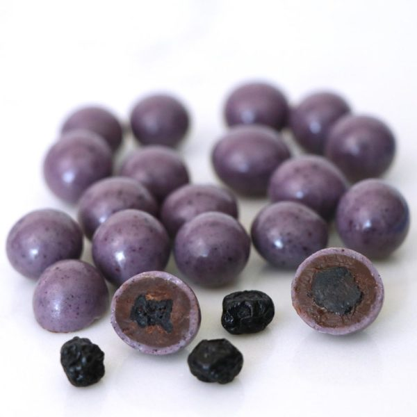 Natural Dark and White Chocolate Blueberries Bulk