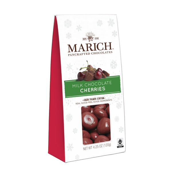 Holiday Milk Chocolate Cherries