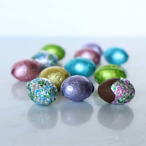 Easter Milk Chocolate Foil Eggs