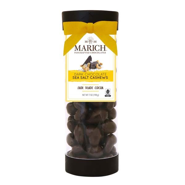 Chocolate Sea Salt Cashews Tube