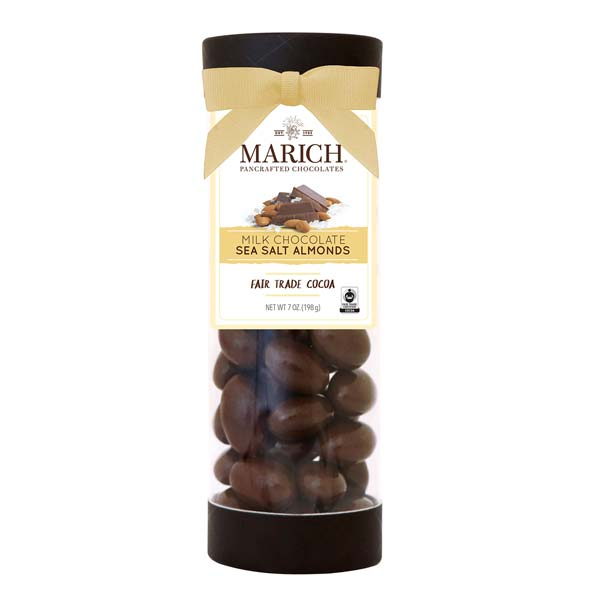 Chocolate Sea Salt Almonds Tube